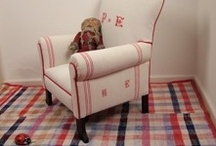 Vintage Linen Upholstery  Projects