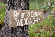 Wedding Planning Ideas / Things we've run across that might give you ideas.