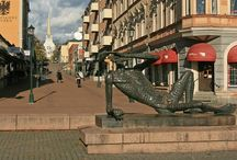 Vakantieplekjes / Winkelstraat Arvika.