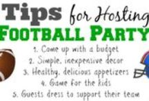 Football Parties!  / Party tips and ideas for football parties!