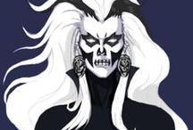 DC : Silver Banshee (Siobhan McDougal) / Super powered villain nemesis of DC's Supergirl and Superman. / by Evan Williams