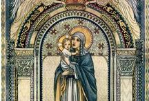iconos-imágenes-pinturas-marianos / by Antonio Sandoval Poveda