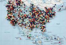 TRAVEL & ADVENTURE / Spinn the globe...wherever it lands, that´s where we´ll go!