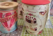 Decoupage - handmade with love / Decoupage sugar and coffee jars, handmade with love!