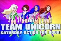 Team Unicorn / Four of the most amazing geek and gamer girls you'll ever meet, setting a new standard of awesome wherever they go / by Softy