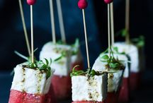 Party drinks and food ideas