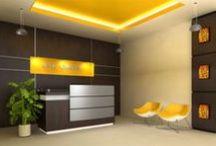Reception Areas / Reception area ideas + designs