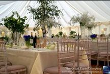 English Country Garden / Each and every wedding is carefully tailored to your specifications, and with skilled guidance, advice and patience, we are confident that the winning formula can be acquired while at the same time allowing you to enjoy the entire process. We can create almost any theme for your wedding, limited only by your imagination!  One of our most popular wedding themes is the English Country Garden.
