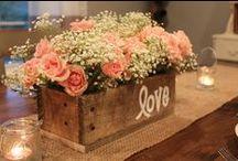 centerpiece - centrotavola /  decorate the table - decorare la tavola