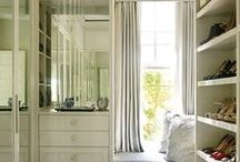 Dressing Rooms - Design and Organization / Dressing room and closet design and organization ideas and inspiration.