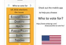 Webprogr 'Who to vote for?' App #US2016 / US 2016 Elections, 'Who to vote for?' mobile app #Sanders #Trump #Clinton https://play.google.com/store/apps/details?id=com.webprogr.whotovotefor