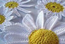 Crochet flowers - fiori all' uncinetto