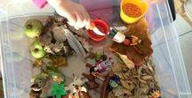 Bacs sensoriels Montessori