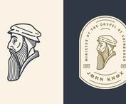 Inspiration | vintage graphic design / Vintage inspired logos, type + icons