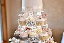 Słodki stół / Pomysły na organizację słodkiego kącika na weselu.