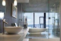 Badezimmer modernisierung / Hier sammle ich die besten Ideen für ein neues Bad und die Badmodernisierung. Schwerpunkte sind neben der Fliese und Wandgestaltung und der Lichtplanung auch Wellness und Spa. Duschkabinen und Badewannen sowie tolle und funktionale Waschtische, LED-Spiegel und Badmöbel. Auch Lösungen für Dachschrägen und kleine Räume oder Gäste-WC sammle ich gerne.   #Badmodernisierung #Duschkabine