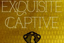EXQUISITE CAPTIVE: Dark Caravan Cycle #1 HarperCollins/B+B Out Now! / YA Fantasy. Jinn. Magic. Romance. Fast cars. Los Angeles. You want to read this. www.darkcaravancycle.com