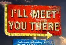 I'll MEET YOU THERE (On Sale Now!) / My next contemporary YA from Macmillan: Josh returns home from Afghanistan, a shell of the cocksure boy he used to be. Skylar's tired of fighting the war at home and dreams of escaping their small town. Their shared isolation becomes friendship and, soon, something more.