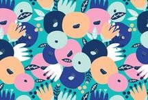 Pattern / Pretty pattern inspiration for illustration and surface print design