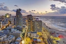 Views of Tel Aviv / Views of the beautiful city of Tel Aviv where Tel Aviv University is located.