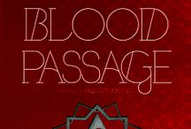 BLOOD PASSAGE: Dark Caravan Cycle #2 (Out Now!) / These are pins for the second book in the Dark Caravan cycle, which takes place in Morocco...