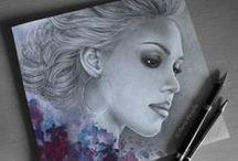 Pencil Drawings black/white