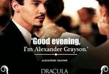 Dracula / eyecatching TV-series with Jonathan Rhys Meyers