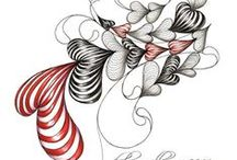 Doodles Zentangles