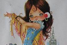 vyšívání - embroidery