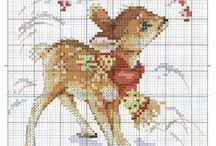 křížkový steh - cross stitch