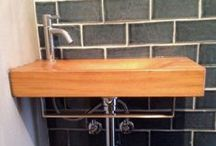 Photo's from our costumers / Some of our customers sent us photo's of their sink(s) we've made for them