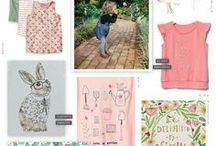 Surface Design Trends / An inspiration board for what's hot in kids designs, greeting, stationery, gift etc