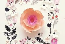 Illustration - Flowers / A Floral inspired inspiration board for surface pattern design and illustration.