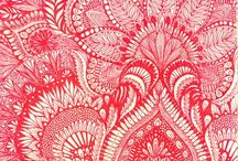 Inspiration - Paisley / A paisley inspired inspiration board for surface pattern design and illustration.