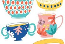 My Illustration Work / http://alicepotter.co.uk/ Illustration and surface pattern design.  Designs for children's clothes, stationery, editorial and food.