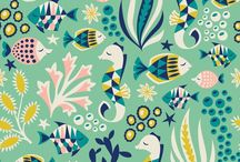 Illustration - Seaside And Nautical / A seaside and nautical themed inspiration board