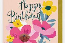 Illustration - Birthday / Birthday themed inspiration board