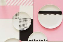 Inspiration - Geometric / A geometric inspired inspiration board for surface pattern design and illustration