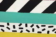 Design - Stripes / A stripes inspiration board for illustration and surface pattern design