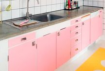Home: Kitchen / An inspiration board for kitchen decor