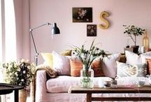 Home: Living Room / An inspiration board for living room home decor