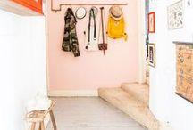 Home: Hallway / A hallway inspiration board for decorating ideas