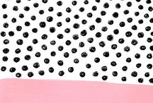 Design - Dots And Spots / A dotty inspiration board for surface pattern design and illustration