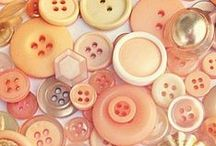 Inspiration - Buttons / A board of vintage buttons for surface print design and illustration inspiration.