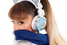 Cat ears head phones
