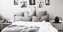 """Bedroom / """"If you're gonna fall apart, do it in your own bedroom."""" Margot Kidder"""