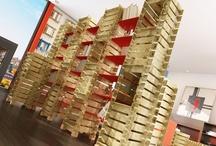 Furnishing solution / Room Divider and Interior Design