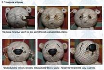 Amigurumi/Bears/Dolls