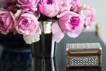 Tables et fleurs