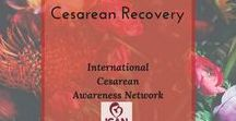Cesarean Recovery / Recovery information for after a cesarean birth